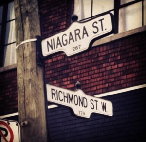 Corner of Richmond and Niagara